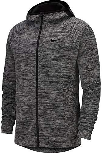 Nike Spotlight Hoodie Full Zip Veste, Black HeatherBlack, L