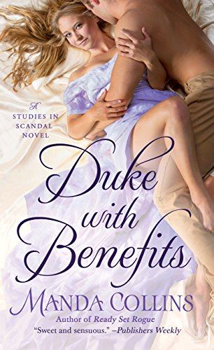 book cover of Duke with Benefits