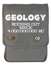 Dancing Participle Geology Rocks Smoke Grey Canvas Field Bag