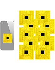 Cell Phone Signal Enhancement Stickers, 10Pcs Outdoor Cell Phone Signal Enhancement Stickers Mobile Phone Signal Improver Boosters