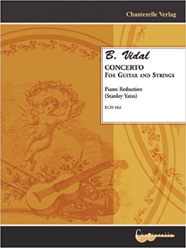 eBookStore téléchargement: B. Vidal - Concerto for Guitar & Strings (Piano Reduction) (French Edition) FB2 by Stanley Yates