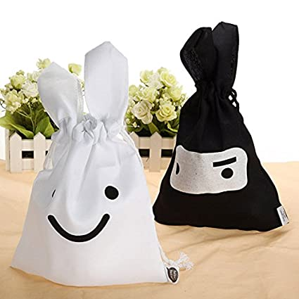 Cute Rabbit Cotton Storage Pocket Bag Cosmetic Case Buckdirect Worldwide Ltd.