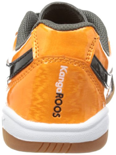 B Kangaroos Grey Black Divided Trainers Boys' Dark Grau Gray Orange zEx0Txrwq