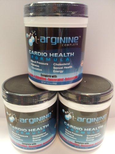 L-Arginine 5000mg complètes de L-Arginine 1000mg & de L-citrulline, Le supplément d'oxyde nitrique Santé Cardio pour hommes et femmes - 3 mois d'approvisionnement