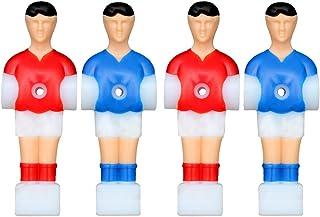 VORCOOL 4pcs Tige de Joueur de Foosball Football de Football de Table de Football de Football de Table d'hommes de pièces de Rechange de Joueur
