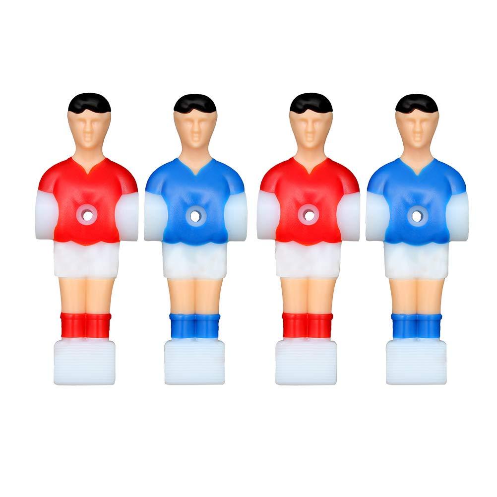 VORCOOL 4 Piezas de reemplazo de Jugadores de futbolín futbolín futbolín futbolín futbolín Jugador de fútbol Masculino