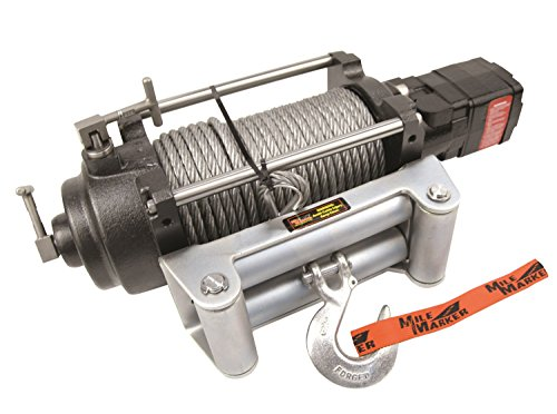 Mile Marker Jeep - Mile Marker 70-52000C H Series Hydraulic Winch (12,000 lb. Capacity, 2 Speed)