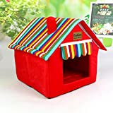 Muodu Dog House Cat Bed Designed for Small Dogs and Cats Portable Indoor Pet House Review