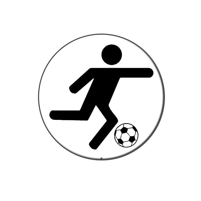 Fussball Symbol Metall Revers Hat Shirt Handtasche Pin