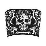 Women's Punk Skull Tube Bra Bandeau Top