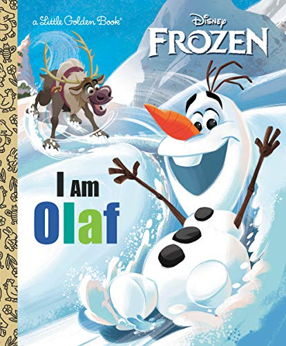 I Am Olaf (Disney Frozen) (Little Golden Book)