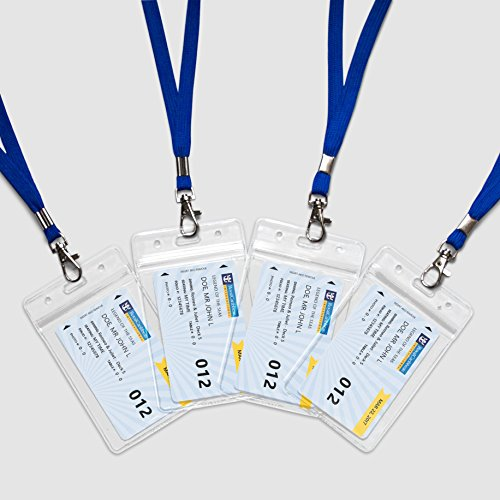 Zip Card Office - Lonely Hedgehog Blue Cruise Lanyards with Zip Card Holders (4)