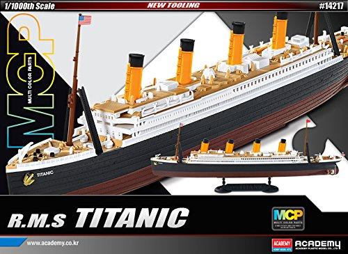 1:1000 Academy R.m.s. Titanic Mcp (multi Color Parts) Plastic Model Kit by Academy Plastics
