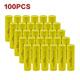 100pcx AA NiCd 1000 mAh 1.2 V Rechargeable Batteries Pkcell