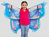 Cozy Wings by Jay at Play Stardust Fairy - Wrap Around Magic Wings Keep Kids Warm & Cozy for Naptime, Playtime, or Anytime – Size Fits Most Kids