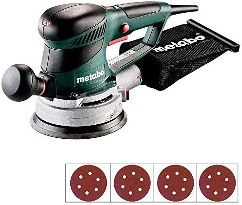 Metabo SXE450 TurboTec 150mm Disc Sander 110V 600129390 Extra 40 Sanding Discs