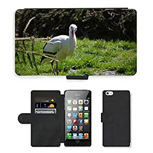 hello-mobile PU LEATHER case coque housse smartphone Flip bag Cover protection // M00138034 Cigüeña pájaro plumaje Fly // Apple iPhone 5 5S 5G