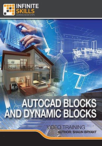 AutoCAD - Blocks and Dynamic Blocks [Online Code] by Infiniteskills