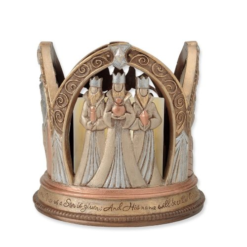 Enesco Legacy of Love Nativity-LED Centerpiece, 5.375-Inch by Enesco (Image #3)