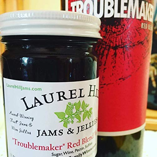 Laurel Hill Jams & Jellies Troublemaker Red Blend Wine Jelly