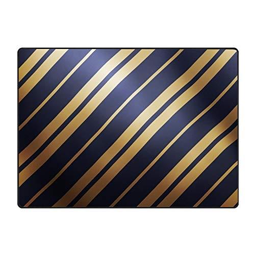 (Diagonal Lines Accent Floor Rug )
