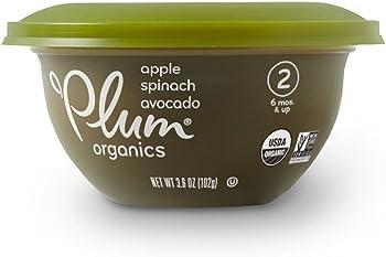 Plum Organics Baby Stage 2 Bowl + $2 Credit
