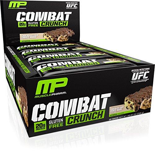Muscle Pharm lutter contre supplément de Crunch, pâte à biscuits pépites de chocolat, comte 12 once 26,67