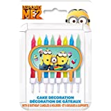 Despicable Me Minions Cake Topper & Birthday Candle Set