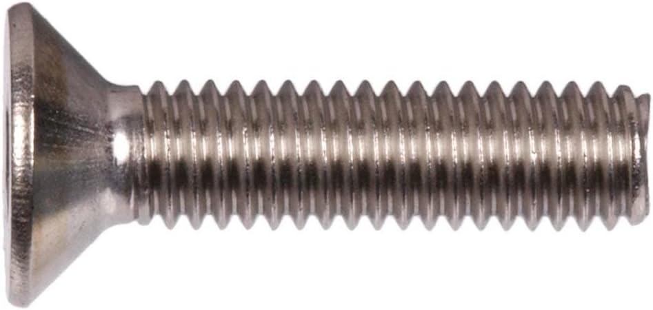 Stainless Steel 18-8 5//16 inch Hexagonal Allen Bolt Quantity: 500 Length: 2 1//4 inch Hex Socket Socket Flat Countersunk Head Cap Screw Coarse Thread 5//16-18 x 2 1//4