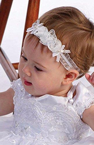 Dirndl Weiß Weiß Mingxuerong Spitze Baby Kleider Kommunion UfIIYqw5