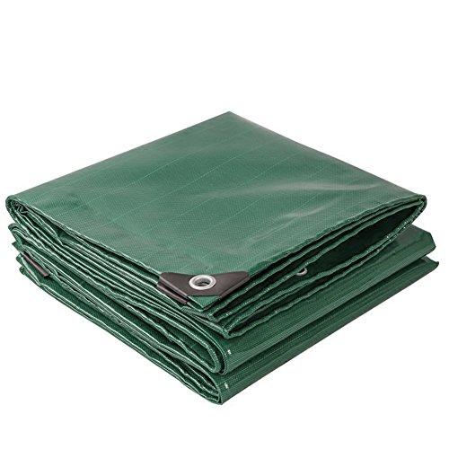 シリンダー甘くする余暇QIANGDA オーニング サンシェードダークグリーン レインカバー ポリ塩化ビニル シェッド 防水 日焼け止め -520g/m2、 厚さ0.45mm、 利用可能な9サイズ サイズのカスタマイズ (サイズ さいず : 3 x 4m)