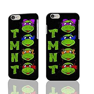 """TMNT Teenage Mutant Ninja Turtles 3D Rough iphone Plus 6 -5.5 inches Case Skin, fashion design image custom iPhone 6 Plus - 5.5 inches , durable iphone 6 hard 3D case cover for iphone 6 (5.5""""), Case New Design By Codystore by runtopwell"""