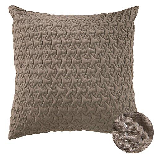 Deconovo Microfiber Throw Pillow Cover Home Decorative Hand