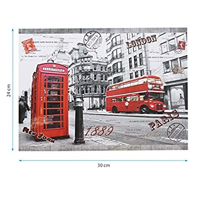 Powerextra Best Gift 1000 Piece Jigsaw Puzzle: London Impression for Kids and Families, Puzzle Play Puzzle Play Brain Teasers Puzzles for Teens: Toys & Games