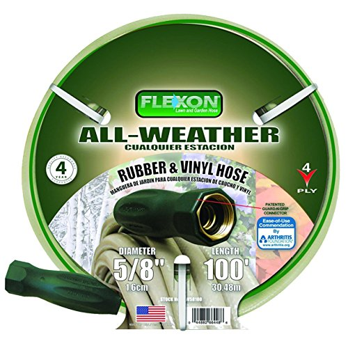 Flexon FAW58100 5/8-Inch x 100-Foot All-Weather 4-Ply Medium