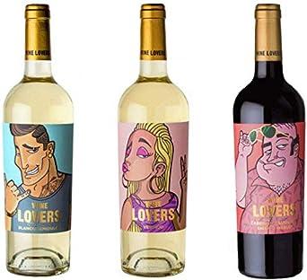 Pack Vinos Wine Lovers - El Cachas Blanco Semidulce, La Choni ...