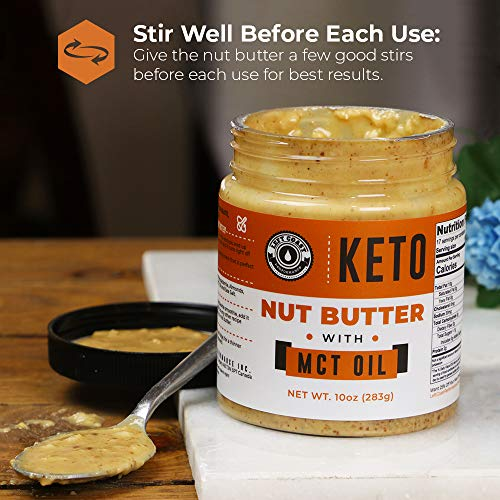Keto Nut Butter Fat Bomb [Crunchy] - 10 Oz - Macadamia Low Carb Nut Butter Blend (1 net carb), Keto Almond Butter with MCT Oil, Left Coast Performance 3