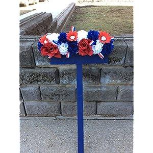 Cemetery Flowers, Patriotic Flowers, Silk Flowers 82