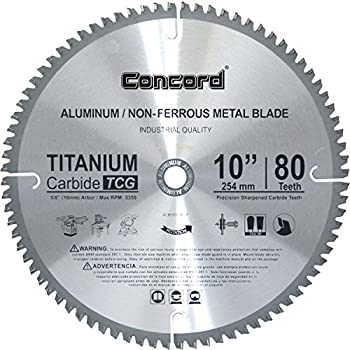 Concord Blades Acb1000t080hp 10 Inch 80 Teeth Tct Non