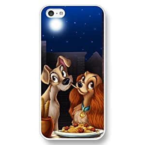 diy phone caseCustomized Disney Lady and the Tramp White Hard Plastic Plastic iphone 6 plus 5.5 inch Casediy phone case