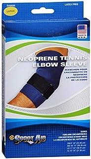 Neoprene Tennis Elbow Sleeve Large 11 - 12 Sportaid