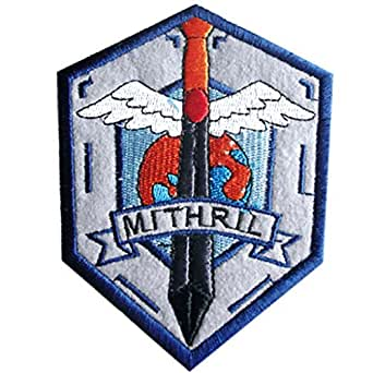 De-Cos Full Metal Panic Accessory Mithril AS Troop Army Emmblem Iron Badge