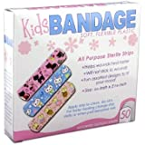 Bandages with Kids Designs, 2-Pack