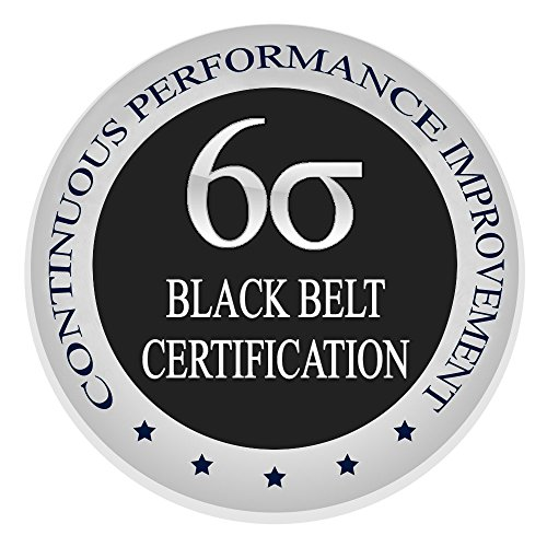 Price comparison product image Learn Lean Six Sigma Black Belt The Easy Way Now, Certification & Training Course, Get Trained & Certified Now Finally