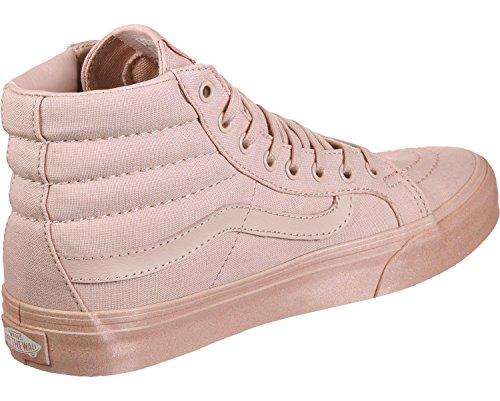 Vans Sk8-hi Scarpe Da Skate Casual Unisex Casual, Confortevoli E Resistenti In Esclusiva Suola In Gomma Waffle Metallizzata Glitter Rosa