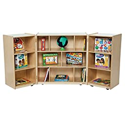 Wood Designs 15600 3 Section Folding Storage (Pack of 2)