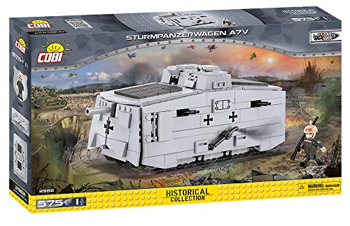 COBI Historical Collection Sturmpanzerwagen A7V Tank