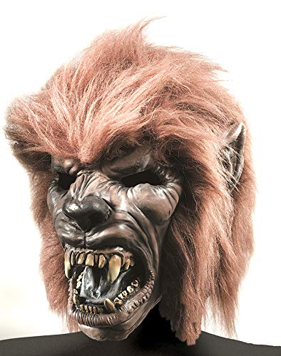 Rubie's Unisex-Adult's Standard Werewolf Mask with Hair, One Size ()