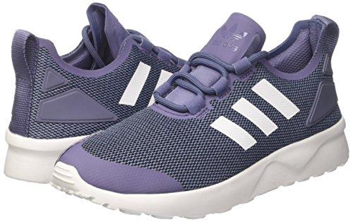 ftwwht Adv Chaussures Course suppur De conavy Zx Flux Verve Adidas Femme W Multicolore BxXHPEq