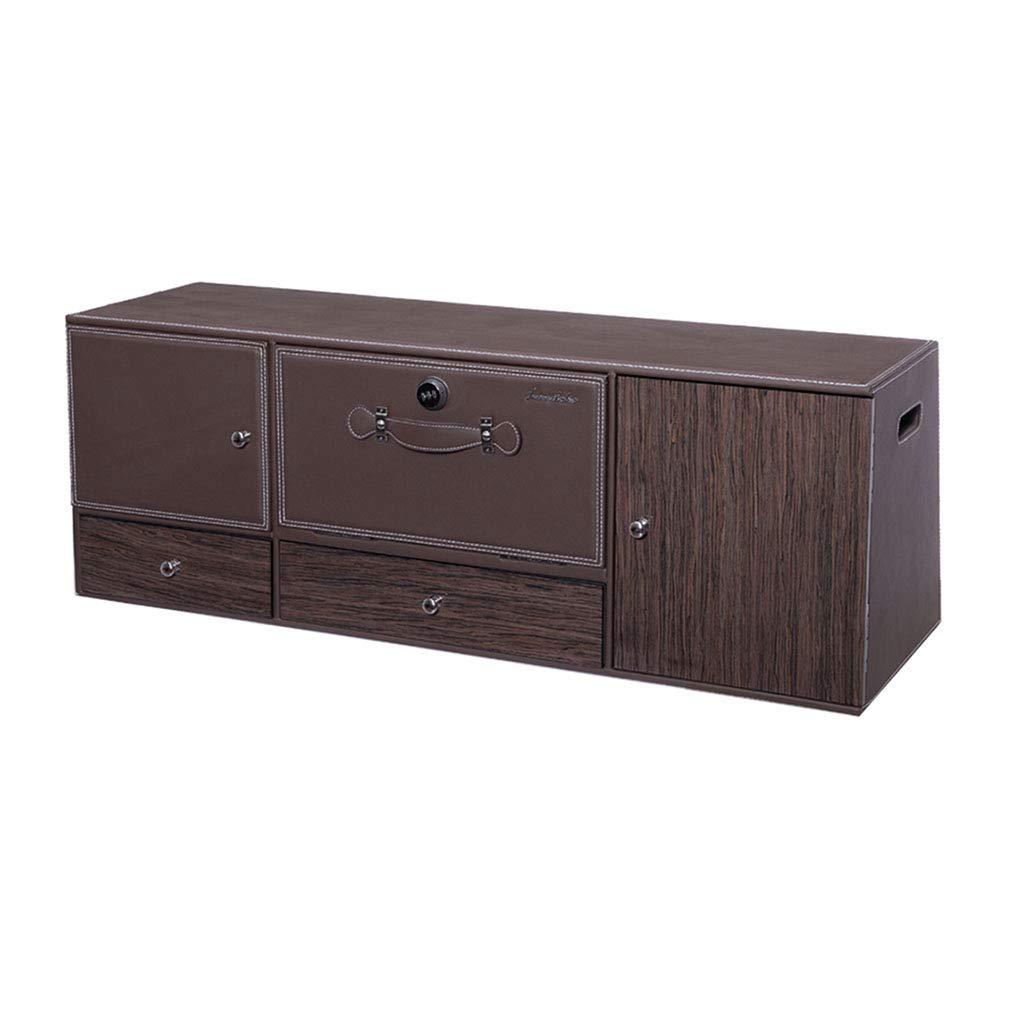 Car Storage Box Tail Box Storage Box Car Supplies with a 75° tilt Angle (Color : Black, Size : 1003535cm)